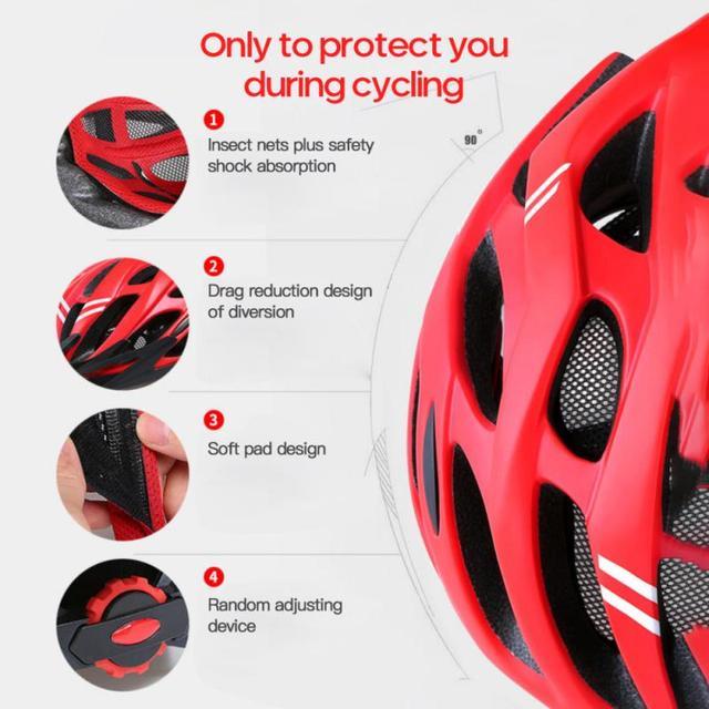 Portátil ao ar livre ciclismo capacete respirável mountain bike equitação ultra light capacetes unisex equipamentos de equitação segurança dropshipping 2