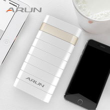 ARUN 20000mAh Power Bank Dual USB Powerbank External Battery