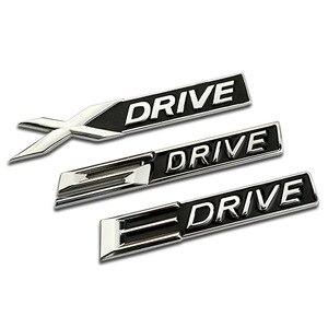 Автомобильные аксессуары 3D хромированныей металлический XDRIVE X DRIVE эмблема, логотип, наклейка значок наклейка автомобильный Стайлинг для BMW ...