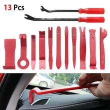 13pcs Car Trim Removal Tool Kit Set Door Panel Auto Dashboard  Nylon Suitable For Most Interior And Exterior Car Modification