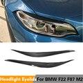 Для BMW F87 M2 F22 F23 220i 228i M235i M Sport Coupe 2-дверь 2014-2018 наглазники сухие углеродное волокно/сухой FRP