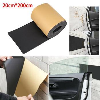 цена на Car Auto Door Protector Garage Rubber Strip Wall Guard Bumper Safety Parking Protector Garage Rubber Strip Car door protection