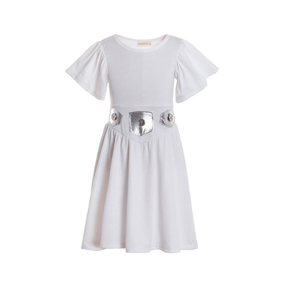 Princess Leia costume, leia outfit,Girls dress,Twirl dress,Halloween Costumes,leia Birthday Outfit,Toddler Dress 1