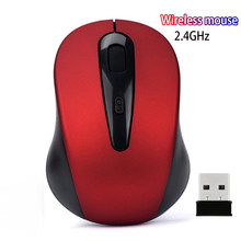 Mouse Nirkabel 2.4G Portable Wireless Mouse 1600DPI Adjustable Cordless Optical Scroll Mouse untuk CHUWI Lapbook Se Xidu(China)