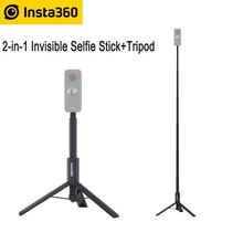 Insta360 R/One X2/One X 및 올인원 삼각대 Selfie 스틱 + 삼각대 Insta360 액세서리 용 2 in 1 보이지 않는 Selfie 스틱