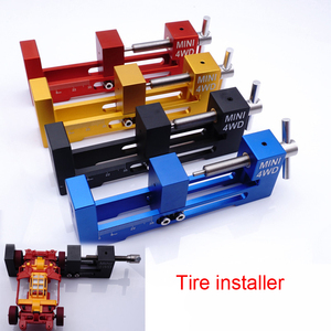 Image 1 - 1PC Tire Installer Wheel Loader Tires Fitter Device With Bearing Tamiya Mini 4WD Tools Large/Small Type Tools DIY Parts