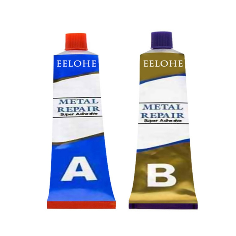 Caster Glue AB Group Double Tube Sealant High Temperature Resistant Glue Industrial Casting Metal Repair Agent