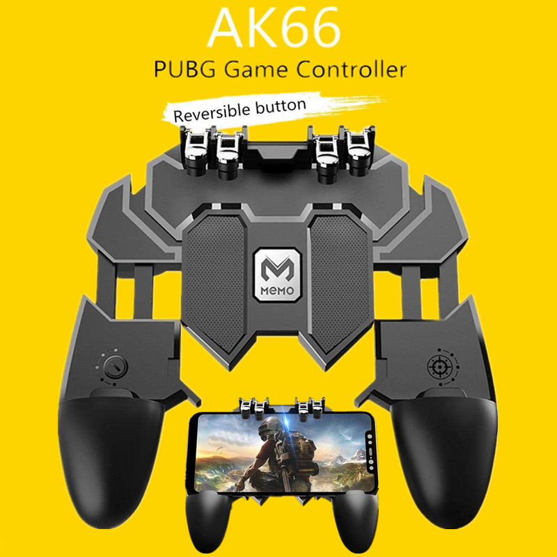 Peripherals Tetik Pubg Joystick Controller For Samsung Android PUBG Phone PUBG Trigger Controller Button Gamepad Mobile Game