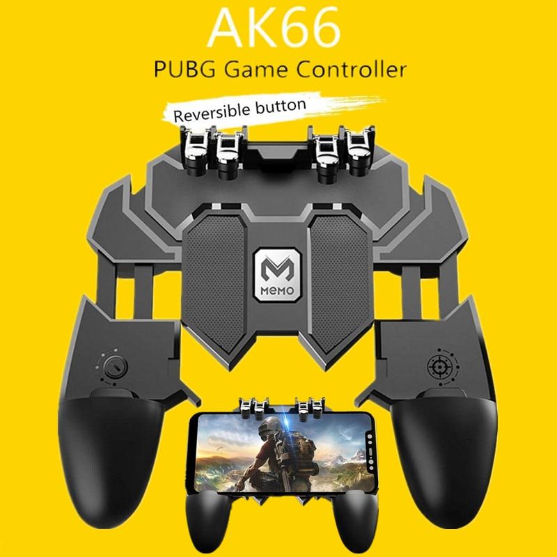 Peripherals Tetik Pubg Joystick Controller For Samsung Android PUBG Phone PUBG Trigger Controller Button Gamepad Mobile Game