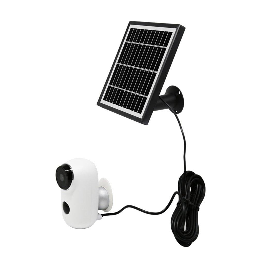 1080P HD Battery Surveillance Camera WLAN IP Outdoor Camera  0ml With Solar Panel Solar Power Wifi Camera
