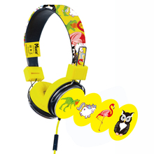 Children Kids Cartoon Headphones for tablet mp3 players PC