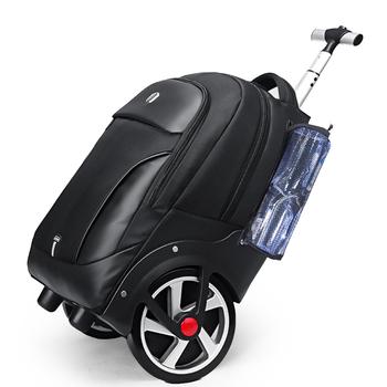 Plecaki szkolne na kółkach dla nastolatka wózek cabina carry on rolling bagaż na kółkach walizka na kółkach torba podróżna na kółkach tanie i dobre opinie TOURISTGEAR CN (pochodzenie) 3 26 Bagaż podręczny ons Naprawiono kółka SLN67751