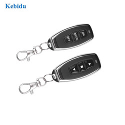 KEBIDU 433MHZ Copy Remote Controller 3 Channel Metal Clone Remotes Auto Copy Duplicator For Gadgets Car Home Garage door
