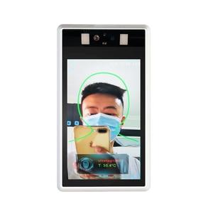 1080p nadzór termo Camera lornetka rozpoznawanie twarzy wykrywanie temperatury ciała Wiegand kontrola dostępu kamera termowizyjna