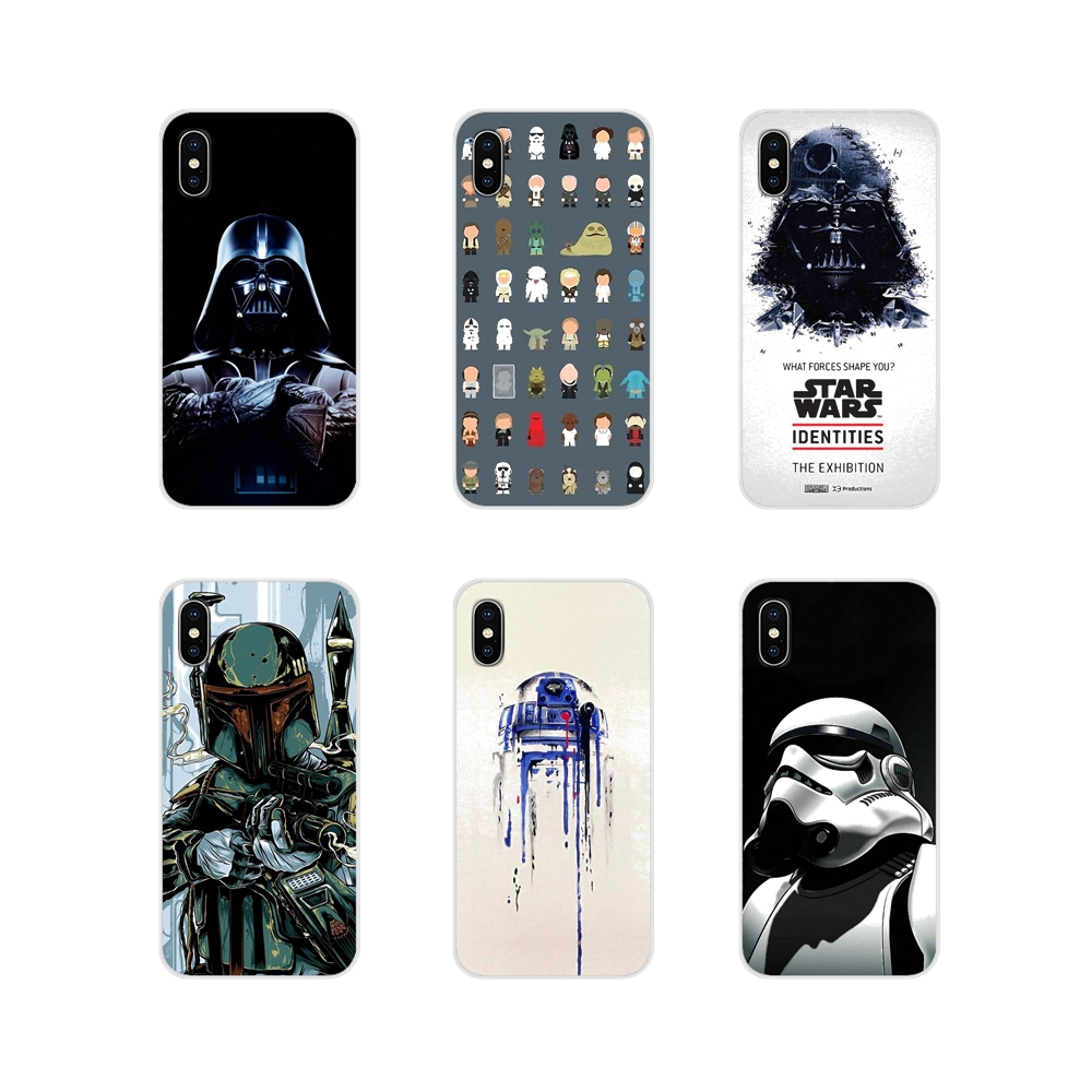 star wars movie Accessories Phone Cases Covers For Apple iPhone X XR XS 11Pro MAX 4S 5S 5C SE 6S 7 8 Plus ipod touch 5 6