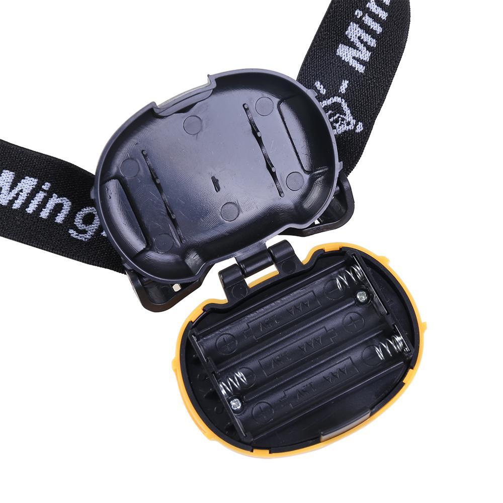 Image 5 - MingRay Mini COB Headlamp 3 W powerful led Headlight waterproof Flashlight on head for camping fishing ridding lamp lantern-in Headlamps from Lights & Lighting