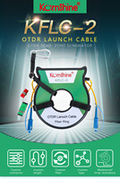 KomShine OTDR Dead Zone Eliminator Fiber Rings 150M 300M 500M 1000M Fiber Optic OTDR Launch Cable Box 1Km SM 1310/1550nm SC/UPC