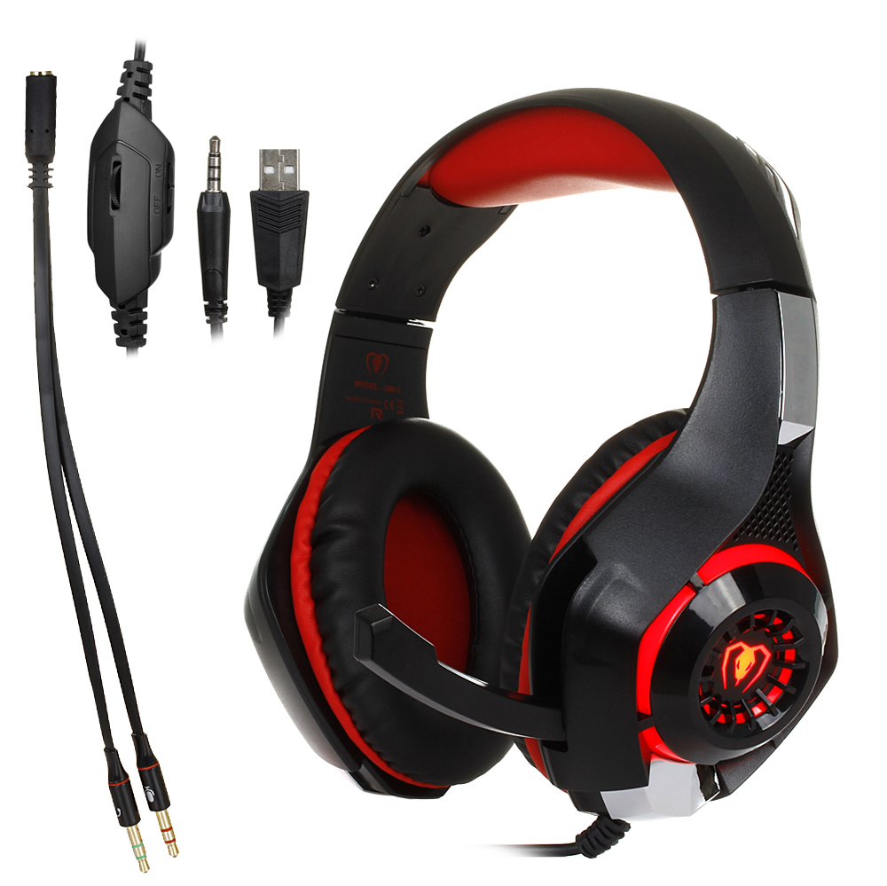 3.5mm Gaming headphone Earphone Gaming Headset Headphone Xbox One Headset with microphone for pc ps4 playstation 4 laptop phone 3