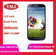 Samsung s4 original s4 i9500 núcleo do quadrilátero do telefone móvel 2gb ram 16gb rom 5.0