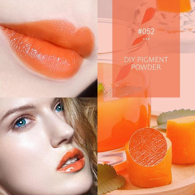 Фото 8 цветов блеск для губ «сделай сам» порошок материал глазурь
