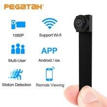 Mini cámara 1080P Wifi videocámara P2P Control remoto HD micro Cámara wi fi cámaras pequeñas Mini cámara IP Wifi soporte 128G TF tarjeta