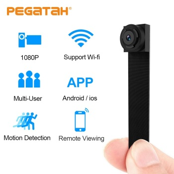 цена на 1080P Mini Camera Wifi Camcorde P2P Remote Control HD micro camera wi fi Small Cameras IP Mini Camera Wifi  Support 128G TF card
