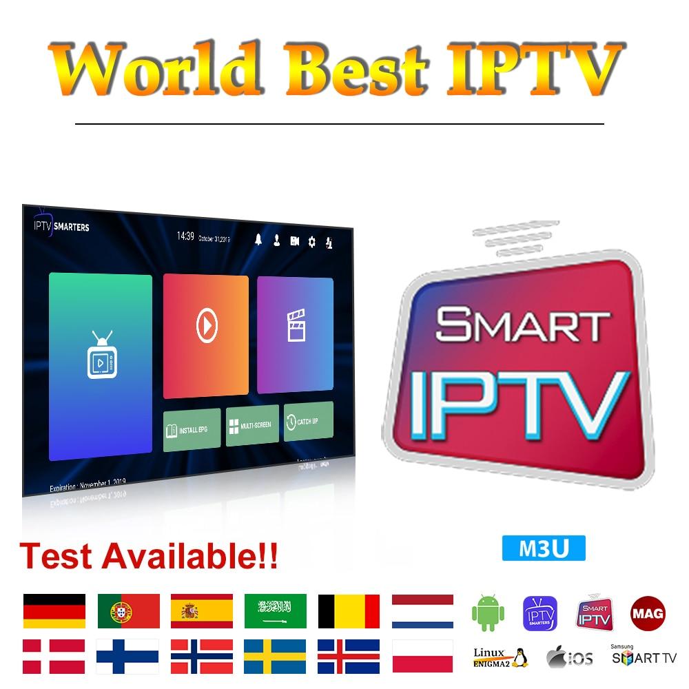 1 Year IPTV Subscription Arabic Algeria Germany IPTV Belgium Netherlands Canada IPTV Code Android M3U Mag Free Test IP TV