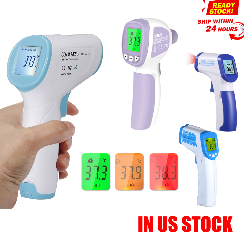 Led-Display-Screen Temperature-Measurement Ear-Forehead Digital Baby Non-Contact Adult
