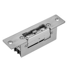 Electric Strike Door Lock Adjustable Electric Strike Locks Durable Lock Tongue Access Control Locks Double Unlock Mode