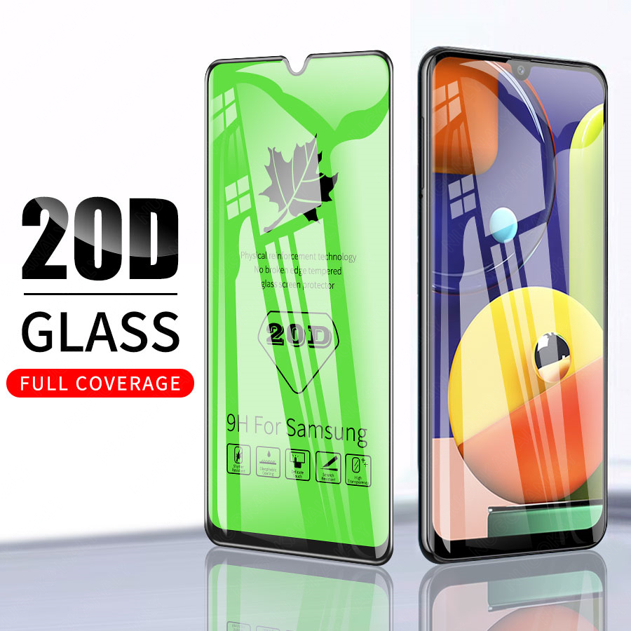 20D Protective <font><b>Glass</b></font> For <font><b>Samsung</b></font> Galaxy A90 A80 A50 A40S A30 A20S A10S A20 <font><b>A10</b></font> <font><b>Tempered</b></font> Screen <font><b>Glass</b></font> Protective Cover <font><b>Glass</b></font> image