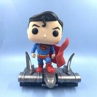 Original Funko pop Secondhand DC Heroes: Superman Movie Scene Vinyl Action Figure Collectible Model Loose Toy No Box