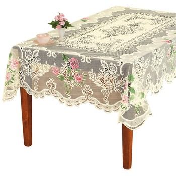 1 Pc Round Rectangle White Lace Tablecloth Dining Table Cover Cloth Home Hotel Textile For Wedding Event Party Hotel Decor Lr3 Buy At The Price Of 6 83 In Aliexpress Com Imall Com