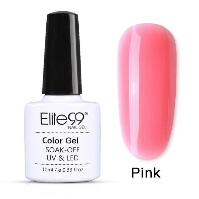 Elite99 Poly Extention Gel Nail art Französisch Nagel Klar Farbe Nagel Spitze Kristall UV Gel Camouflage Farbe Builder poly gel