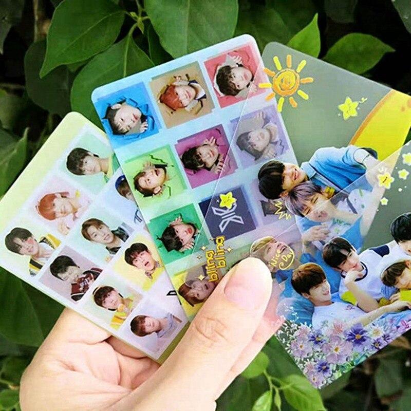 KPOP Produce 101x1 Quantum Leap X1 Fly High FLASH X1 Show Transparent LOMO Card Photocard KIM YOHAN CHO SEUNGTOUN 8Pcs/Set
