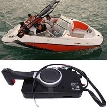 Подвесной боковое Крепление пульт дистанционного управления для Suzuki, подвесной лодочный мотор моторы с PT Push, правая рука 67200-93J50 67000-93J50