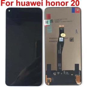 Image 5 - 100% ทดสอบต้นฉบับสีดำ 6.26 สำหรับ Huawei Honor 20 honor20 /nova 5T YAL L21 จอแสดงผล LCD หน้าจอสัมผัส digitizer ASSEMBLY Parts