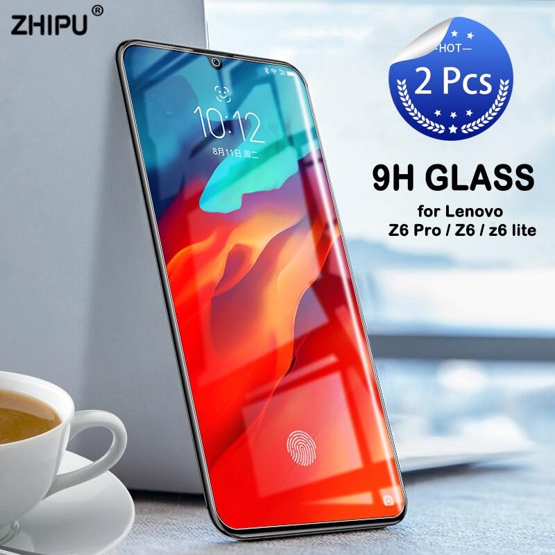 2 Pcs Tempered Glass For Lenovo Z6 Pro / Z6 / Z6 Lite Screen Protector 2.5D 9H Tempered Glass For Lenovo Z6 Pro Protective Film