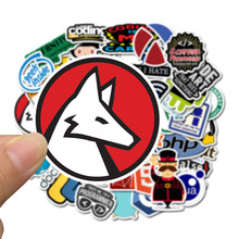50Pcs New Programming Stickers Pack For On The Laptop Fridge Phone Skateboard Travel Suitcase Waterproof Sticker