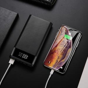 Чехол для внешнего аккумулятора Kebidumei DIY 6*18650, 5 В, портативный корпус для зарядки мобильных телефонов