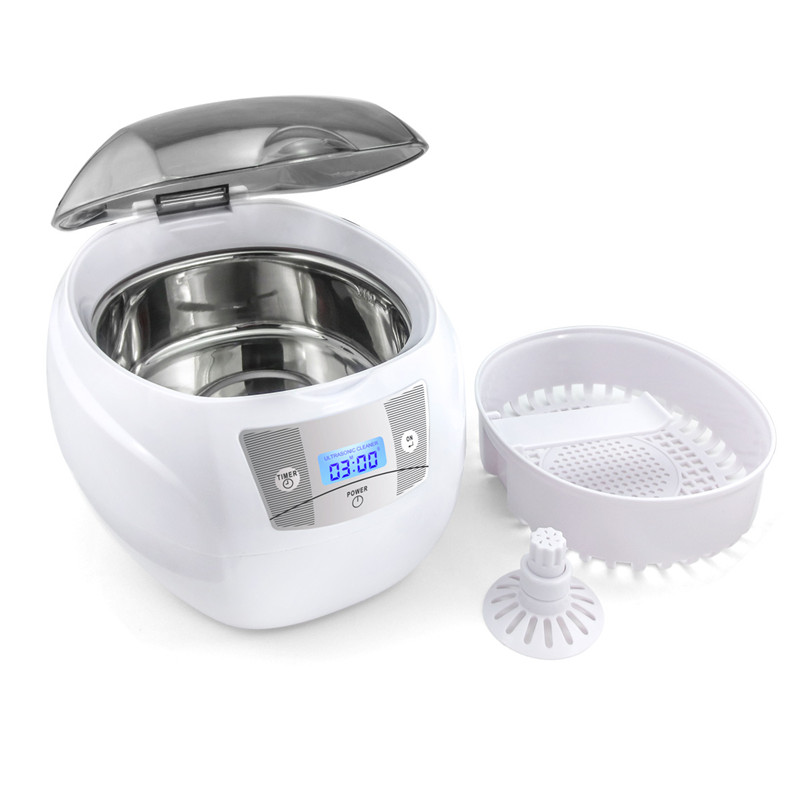 Image 3 - Skymen Ultrasonic Cleaner Jewelry Cleaner for Manicure Cutters Tools Denture Glasses Razor Coins Ultrasound Cleaning Machine-in Ultrasonic Cleaners from Home Appliances
