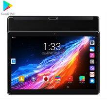 Mais novo 8gb + 128gb 10.1 Polegada android 9.0 tablet pc 10 núcleo 4g fdd lte 3g telefone chamada wifi bluetooth ips tela de vidro comprimidos
