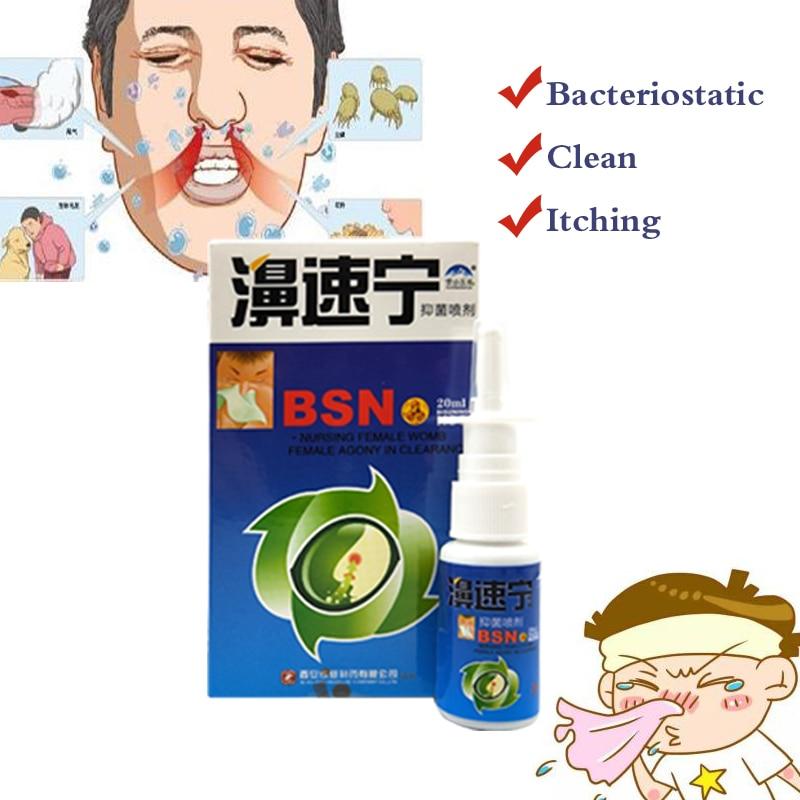 10packs/lot Nasal Sprays Chronic Rhinitis Sinusitis Spray Chinese Traditional Medical Herb Spray Rhinitis Treatment Nose Care