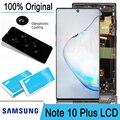 100% Оригинальный ЖК-дисплей сенсорный экран дигитайзер для Samsung Galaxy Note 10 N970F N9700 Note 10 plus N975 Note10 + запасные части