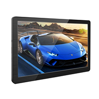 7 inch Monitor Screen Monitor with Driver Board 1024x600 for HDMI Raspberry Pi PS3 PS4 Xbox Computer Laptop
