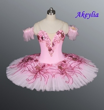 Adult Pink fairy nutcracker tutu girls royal blue professional women pancake sleeping beauty ballet