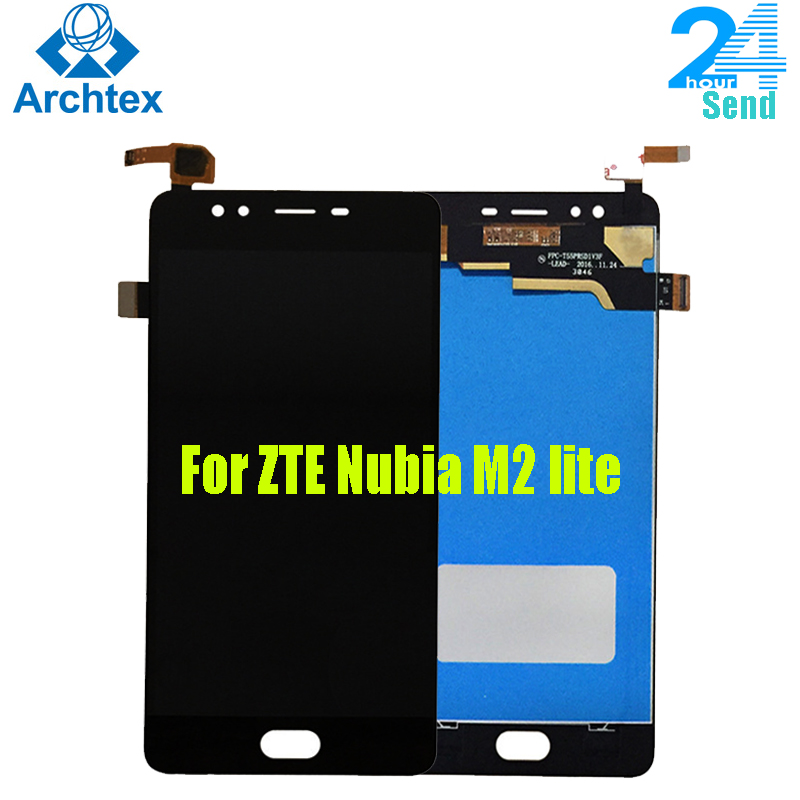 For ZTE Nubia M2 lite NX573J LCD Display +Touch Screen Digitizer Assembly Replacement Parts 5.5 inch For nubia M2 lite +Tools