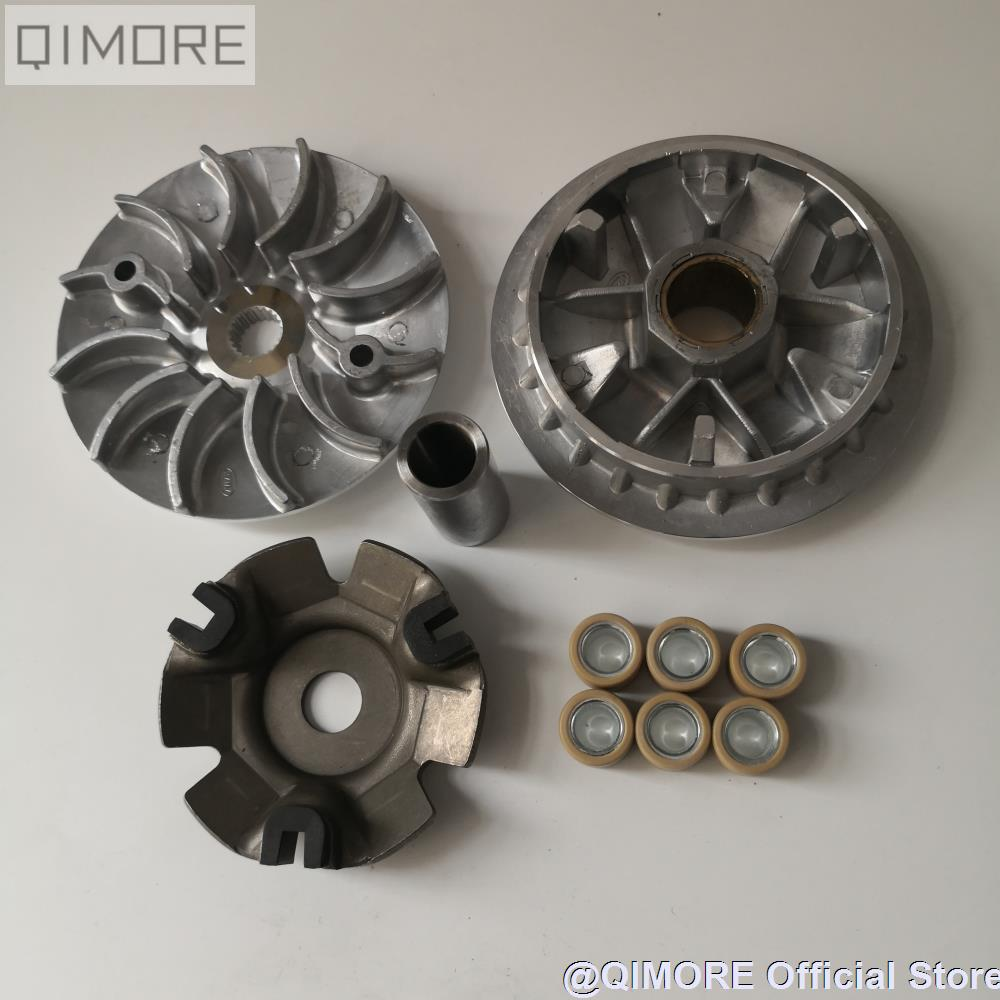 Complete Variator Set (126mm) for Scooter Znen Lance Sport 150 Pheonix ZN150T-18 Zoom Zoom ZN150T-18A BN157QMJ-3 GY7 GY6-B