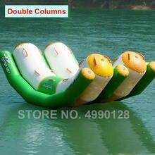 Бесплатная доставка 3x21x12 м надувной воздушный поплавок для