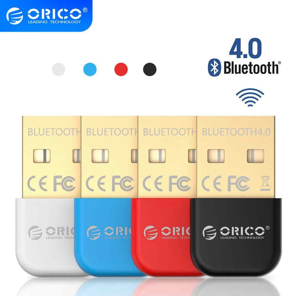 ORICO adaptador USB inalámbrico con Bluetooth 4,0 adaptador receptor de sonido de música Dongle Bluetooth transmisor Bluetooth para ordenador PC