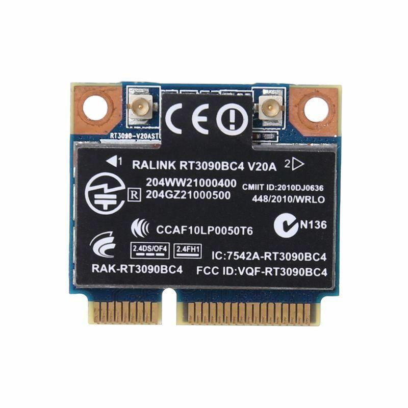 Wireless Network Card 300M WiFi WLAN Bluetooth 3.0 PCI-E Card For HP RT3090BC4 ProBook
